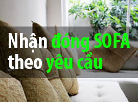nhận đóng sofa theo yêu cầu