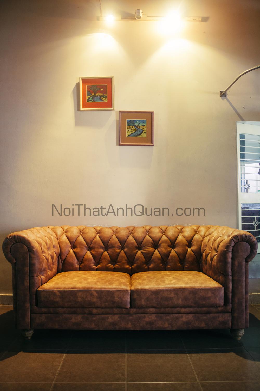 Sofa Vintage Vt 06 Nội Thất Anh Quan